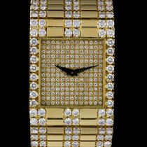 Piaget 18k Yellow Gold Diamond Set Ladies Wristwatch 7131 C6532
