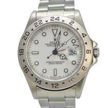 Rolex Explorer II 40mm White Dial P Series Box and Paperes