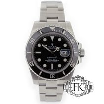 Rolex Submariner Date Stainless Steel 116610LN Ceramic Black...