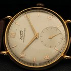 Tissot YELLOW GOLD VINTAGE OVERSIZE FANCY LUGS