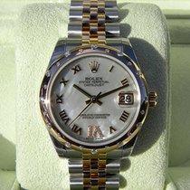 Rolex Datejust 31 MM 18K Rose Gold Automatic Diamonds