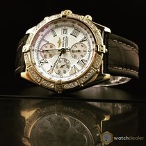 Breitling Crosswind Yellow Gold  Diamonds K13055