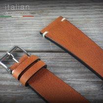 Cinturino pelle vacchetta 22 mm Cuoio LS VACCHETTA Cowhide...