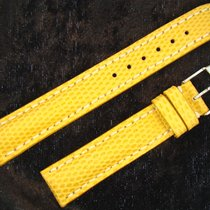 Breitling Reptil 16mm Reptilarmband 16/14mm Yellow Gelb Mit...
