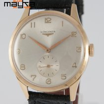 Longines Vintage 37mm Yellow Gold 18K 1954 Caliber 27.0 Ref:...