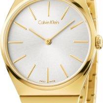 ck Calvin Klein Supreme K6C2X546 Damenarmbanduhr flach &...