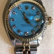 Rolex Oyster Perpetual Lady Date Diamonds Dial