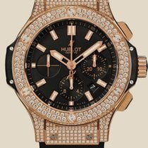 Hublot Big Bang 44 MM Gold Pave
