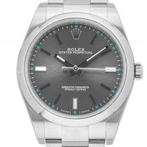 Rolex Oyster Perpetual Stahl Automatik Armband Oyster 39mm...