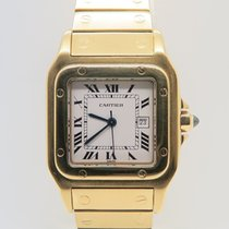 Cartier Santos Galbee 18k Yellow Gold 29mm Automatic