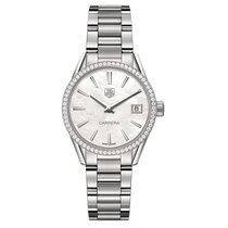 TAG Heuer Carrera 32mm Date Quartz Ladies Watch Ref WAR1315.BA...