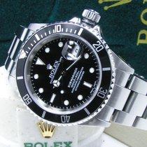Rolex Men's Steel 40mm Submariner Date Black Dial Bezel Box Books