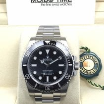 Rolex 114060 Black Submariner No Date Ceramic Bezel [NEW]