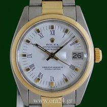 Ρολεξ (Rolex) Datejust 6827 Medium 18k Gold Steel Box&Papers