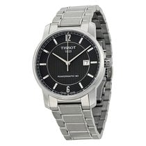Tissot Men's T0874074405700 T-Classic Titanium Powermatic8...
