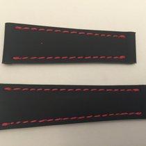 Rolex Cinturino Gomma Rubber Strap 20x16
