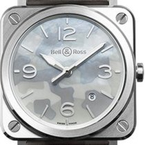 Bell & Ross Grey Camouflage BRS-CAMO-ST