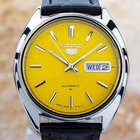 Seiko 5 Automatic Large 36mm Retro 1970's Ss Watch Made In...