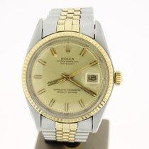 Rolex Datejust 36mm Steel/Gold (BOX1974) GoldDial FINE