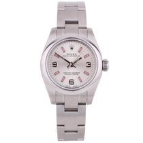 Rolex Pre-Owned Stainless Steel Oyster Perpetual 176200 2012...