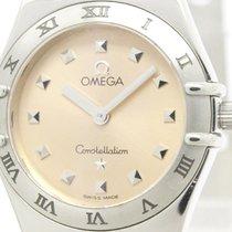 オメガ (Omega) Polished Omega Constellation My Choice Quartz...