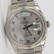 Rolex Day-Date President Weißgold 118209