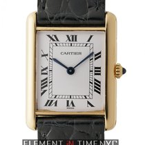 Cartier Tank Collection Tank Louis 18k Yellow Gold 24mm White...