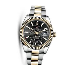 Rolex Sky-Dweller Automatic Men's 18kt Yellow Gold Oyster...