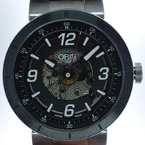 Oris Mans Automatic Wristwatch TT1 Skeleton