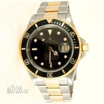 Rolex Submariner Date 16613 Black Two Tone  X-Series Papers 1996