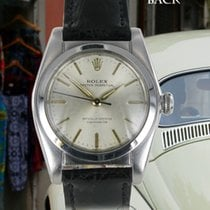 Rolex Oyster Perpetual Bubble Back Edelstahl