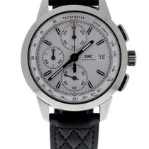 IWC Ingenieur chronograph limited 750 edition W125 silver dial