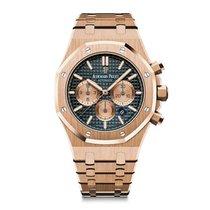 Audemars Piguet Royal Oak Chronograph Blu Dial - 26331or