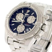 Breitling Chrono Colt 41MM Black Dial Chronograph Steel Mens...