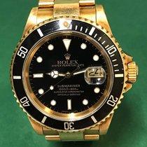 劳力士  (Rolex) 16618 Submariner Date  18K YG with Black Dial