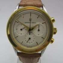 Universal Genève CHRONOGRAPH STAHL GOLD COMPAX