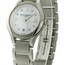 Baume & Mercier Ilea Ladies watch diamonds Stainless Steel...