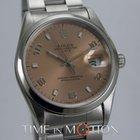 Rolex Oyster Perpetual Date 15200 Saumon Certif Rolex Boite...