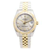 勞力士 (Rolex) Lady Datejust 18k Gold Steel Silver Automatic...