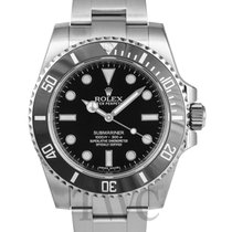 롤렉스 (Rolex) Submariner Black/Steel Ø40mm - 114060