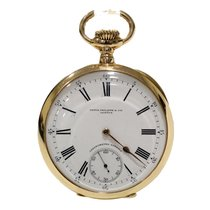 百达翡丽  (Patek Philippe) Gondolo Pocket Watch Gold 18Kt 54mm