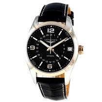 Longines Conquest Two Tone GMT L27995563