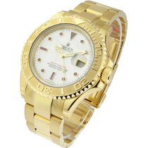 Rolex Used 16628 Yachtmaster Large Size in Yellow Gold -...