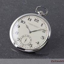 Audemars Piguet 950 Platin Taschenuhr Lepine Handaufzug...