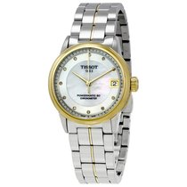 Tissot T-Classic Luxury Mother Of Pearl Dial Automatic Ladies...
