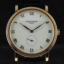 """Patek Philippe Calatrava Porcelain dial 150 Ans""""Pour..."""