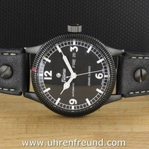 Tutima Grand Classic Black PVD 628-11 from 2014, Box, Papers