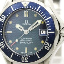 Omega Polished Omega Seamaster Professional 300m Quartz Ladies...