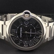 Cartier Ballon Bleu W6920042 Stainless Steel 42mm Large Black...