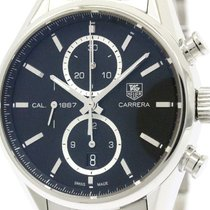 TAG Heuer Carrera Calibre 1887 Chronograph Steel Watch Car2110...